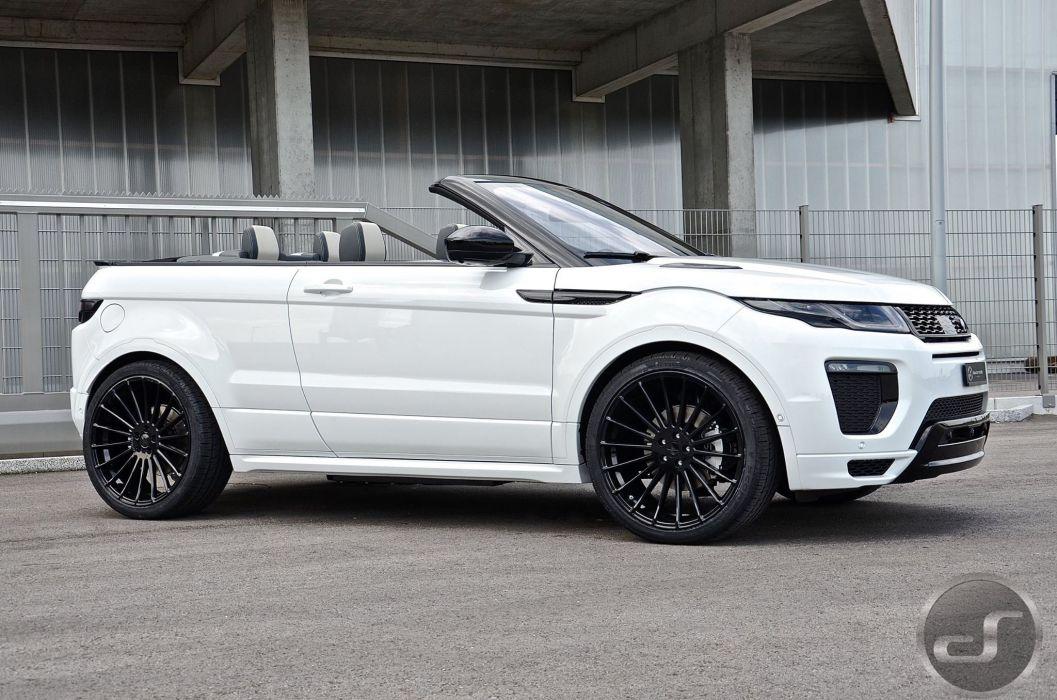 2016 Hamann modified white Range Rover Evoque cabriolet wallpaper