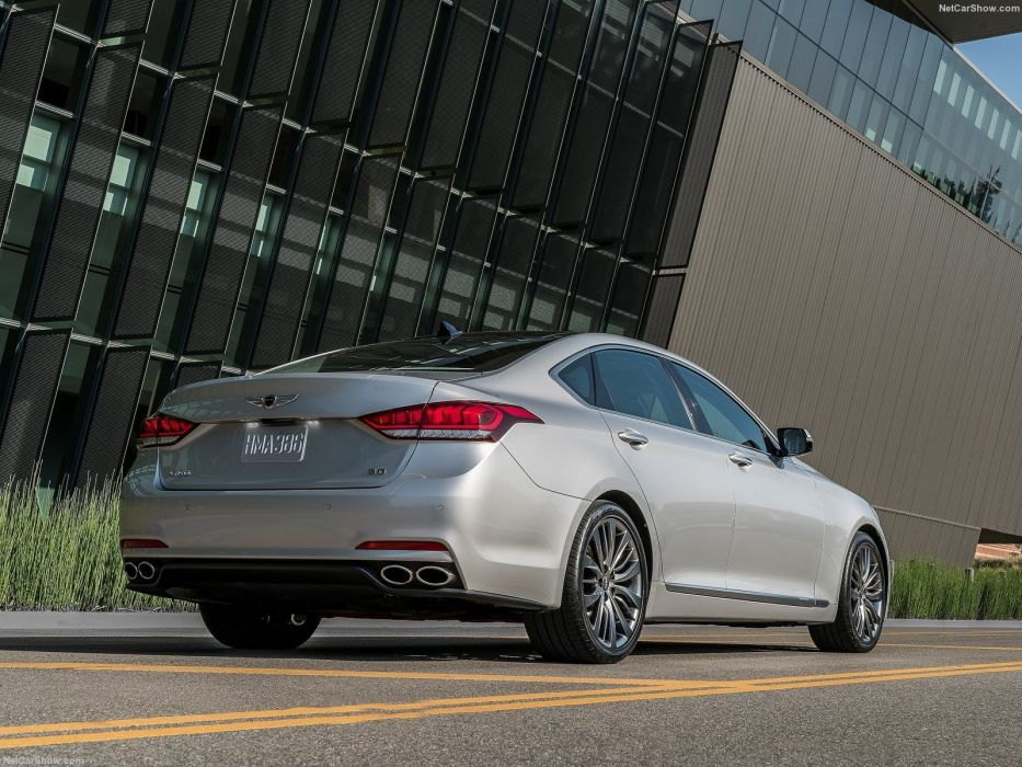 Hyundai Genesis G80 cars sedan 2016 wallpaper