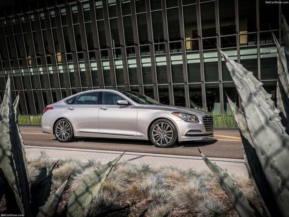 Hyundai Genesis G80 cars sedan 2016 wallpaper