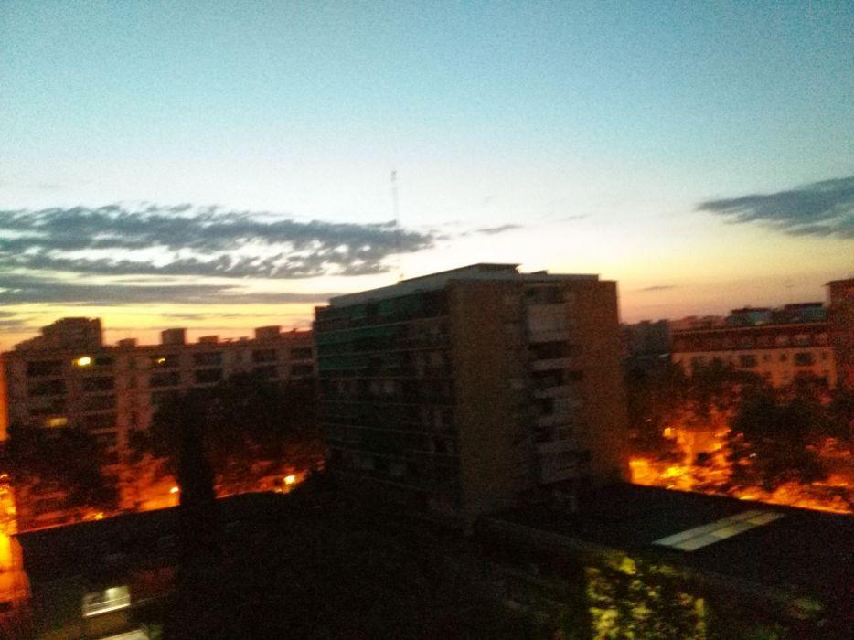 Sunrise in Barcelona wallpaper