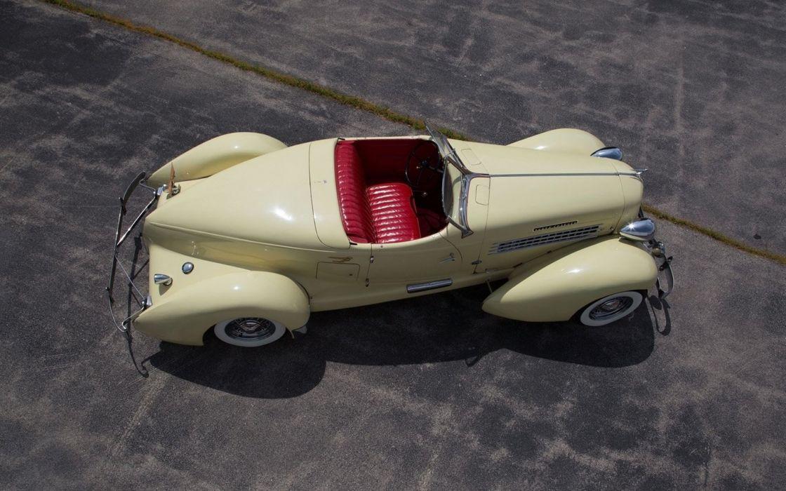 1935 Auburn 851 SC Boattail Speedster cars classic wallpaper