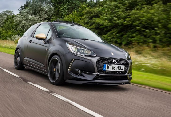 DS 3 Performance Cabrio UK-spec french cars black 2016 wallpaper