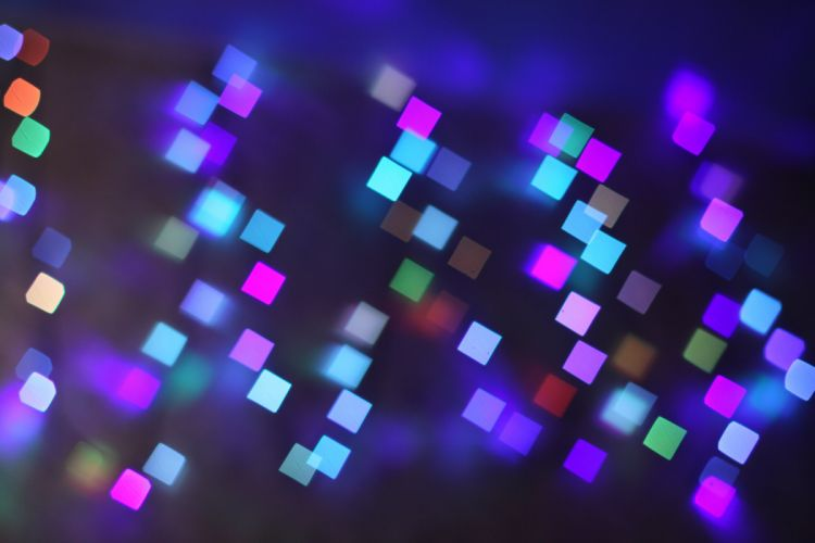 abstract squares glare wallpaper