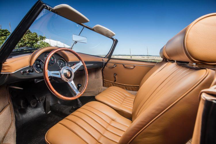 Porsche 356B 1600 Super 90 Roadster (T5) cars 1959 wallpaper