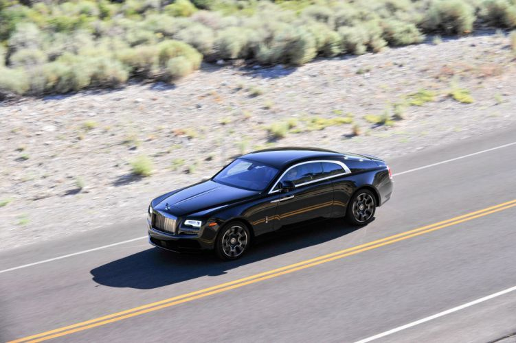 Rolls-Royce Wraith Black Badge cars luxury 2016 wallpaper