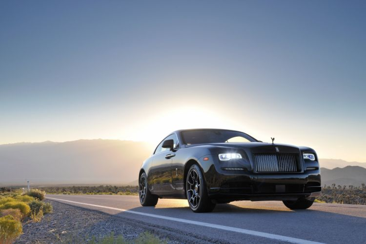 Rolls-Royce Wraith Black Badge cars luxury 2016 wallpaper