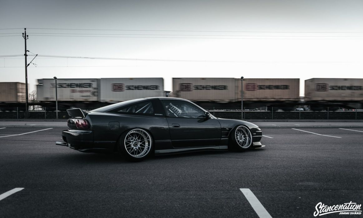 NISSAN 200SX cars modified 1992 wallpaper