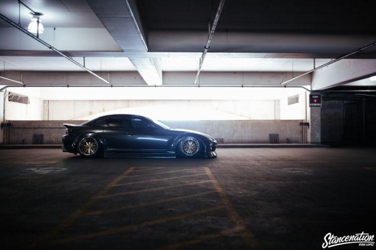 Mazda RX8 cars modified wallpaper