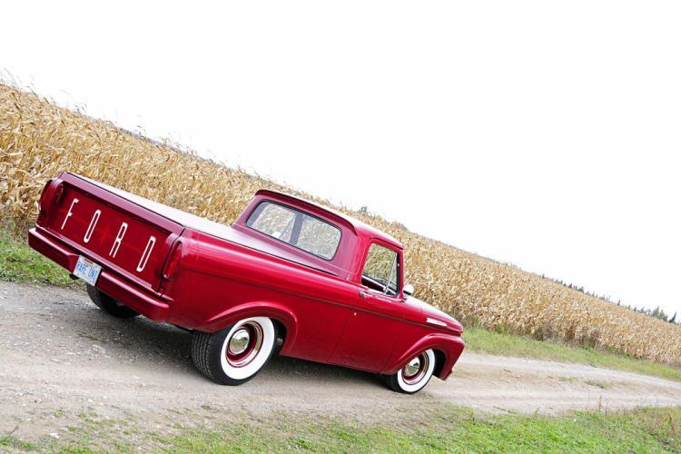 Classic 1961 Ford Unibody Pickup wallpaper