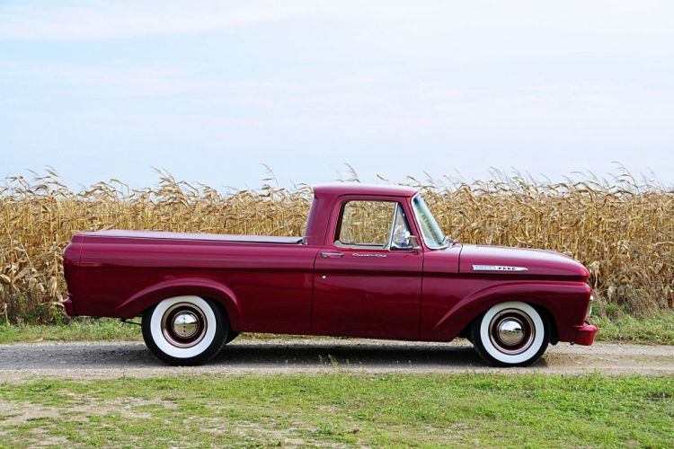 Classic 1961 Ford Unibody Pickup wallpaper