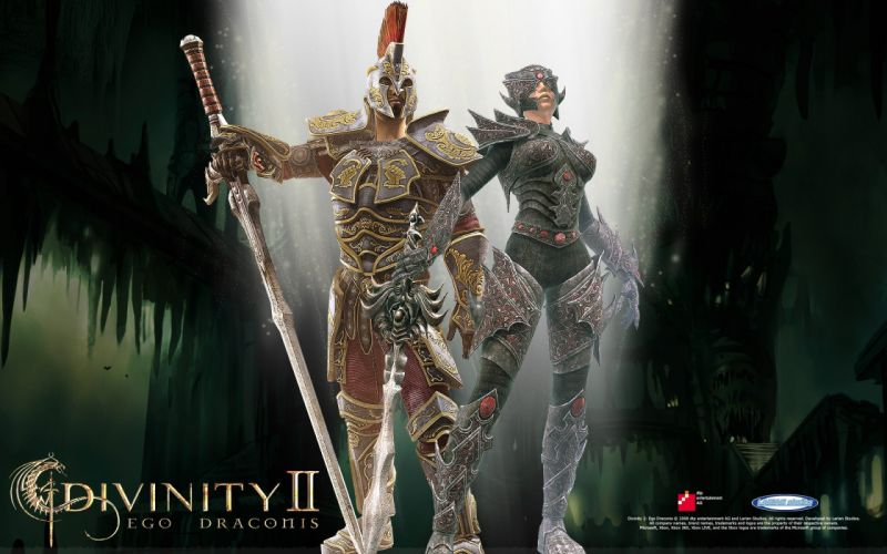 divinity 2 ego draconis video juego wallpaper