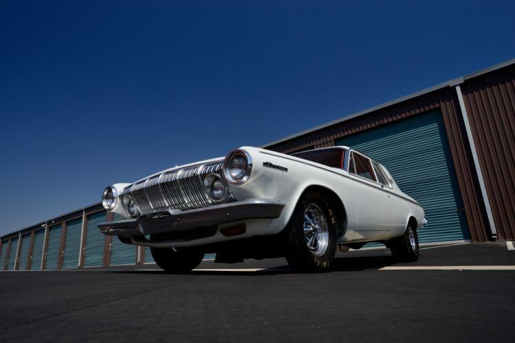 1963 Dodge 330 2-door Sedan Factory Lightweight cars classic wallpaper