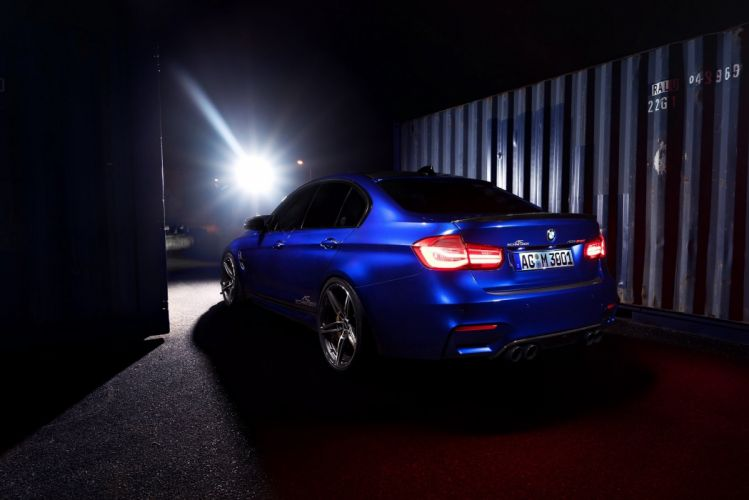 AC Schnitzer ACS3 Sport (F80) cars blue modified 2016 wallpaper
