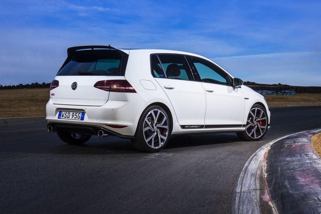 Volkswagen Golf GTI 40 Years cars white (Typ 5G) 2016 wallpaper