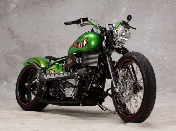 moto verde chopper wallpaper