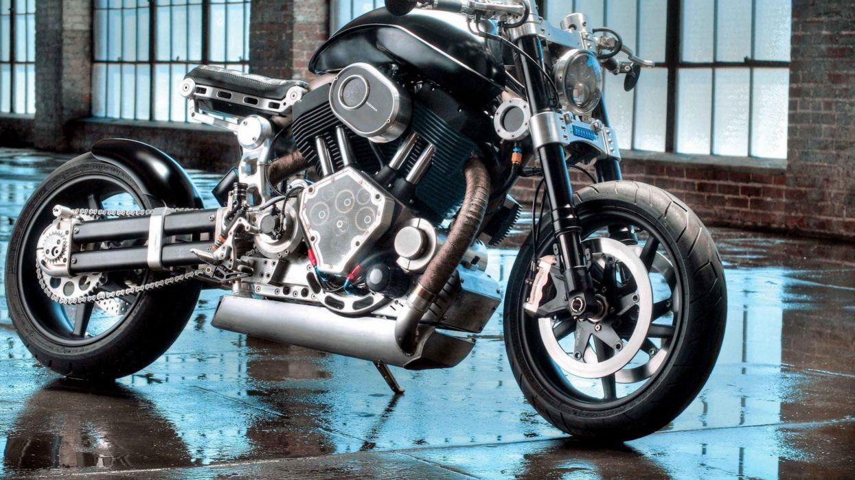 reparacion moto negra wallpaper