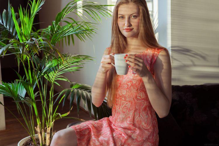 beautiful girl female women woman sexy babe model adult blonde f wallpaper