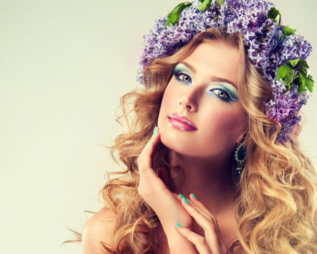 beautiful girl female women woman sexy babe model blonde face j wallpaper