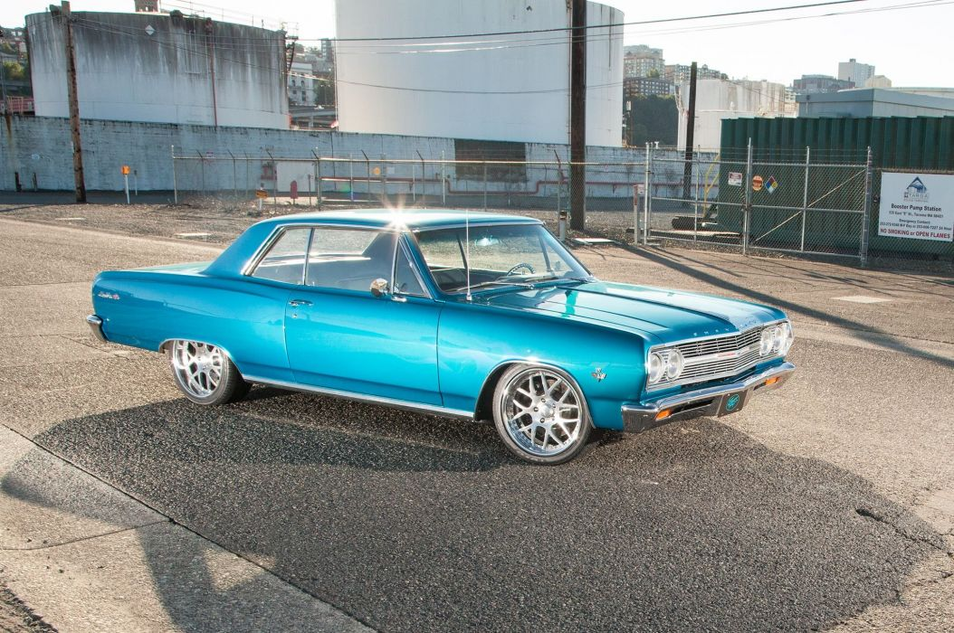 1965 Chevelle Malibu S-S muscle classic hot rod rods hotrod custom chevrolet chevy wallpaper