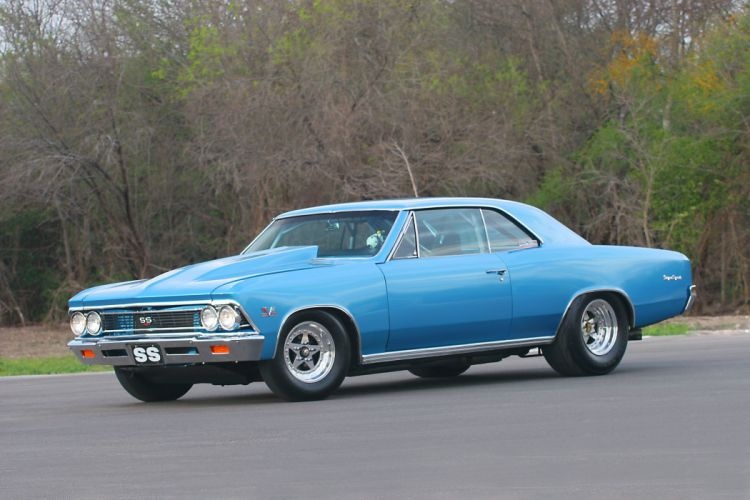 1966 Chevrolet Chevelle muscle classic hot rod rods hotrod custom chevy drag race racing wallpaper