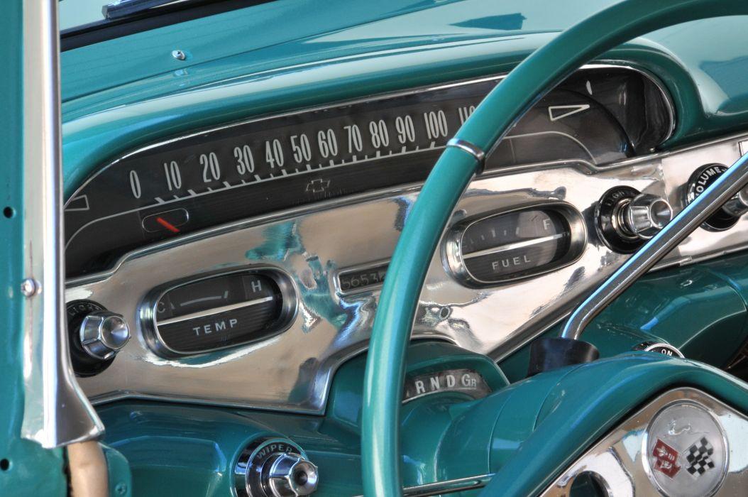 1958 Impala muscle classic hot rod rods hotrod custom chevrolet chevy wallpaper