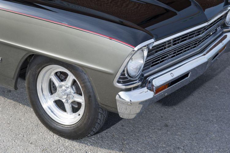1967 Nova muscle classic hot rod rods hotrod custom chevy chevrolet wallpaper