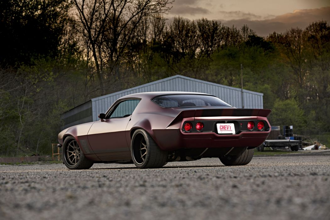 Chevrolet Camaro muscle classic hot rod rods hotrod custom 1971 wallpaper