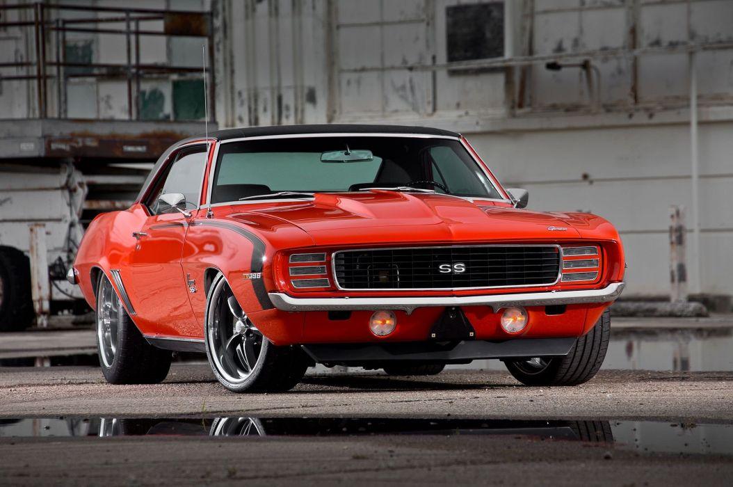 1969 Camaro muscle classic hot rod rods hotrod custom chevy chevrolet wallpaper