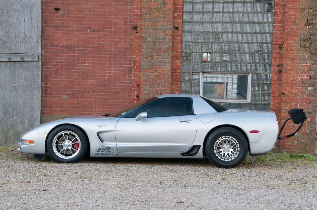 2001 Twin Turbo Lingenfelter Corvette muscle classic hot rod rods hotrod custom chevy chevrolet supercar drag race racing wallpaper