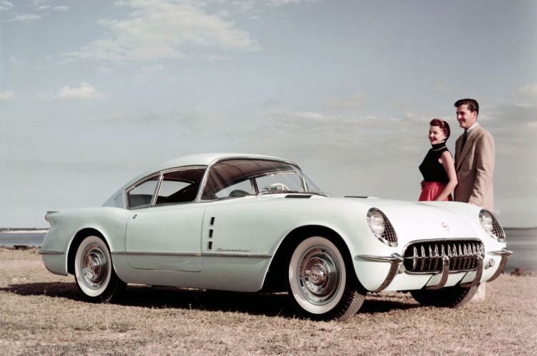 Corvette muscle classic hot rod rods hotrod custom chevy chevrolet supercar 1954 motorama corvair wallpaper