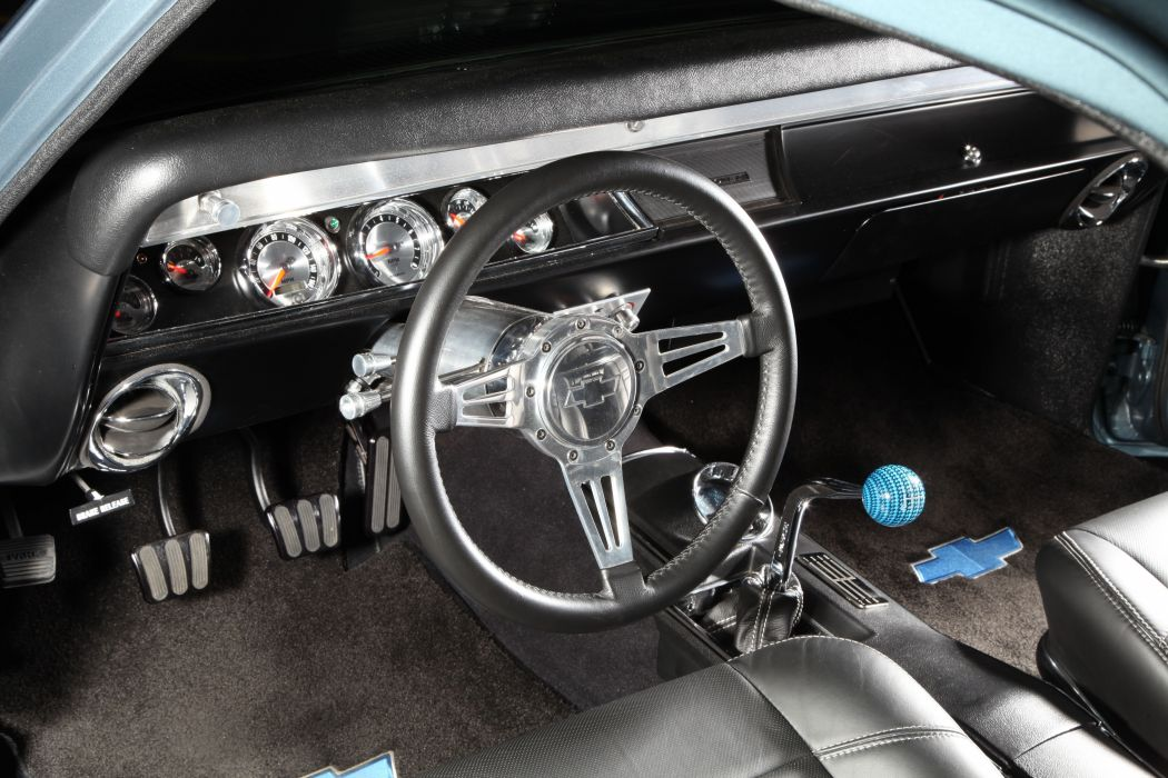 1967 Chevrolet El Camino muscle classic hot rod rods hotrod custom chevy chevrolet pickup wallpaper