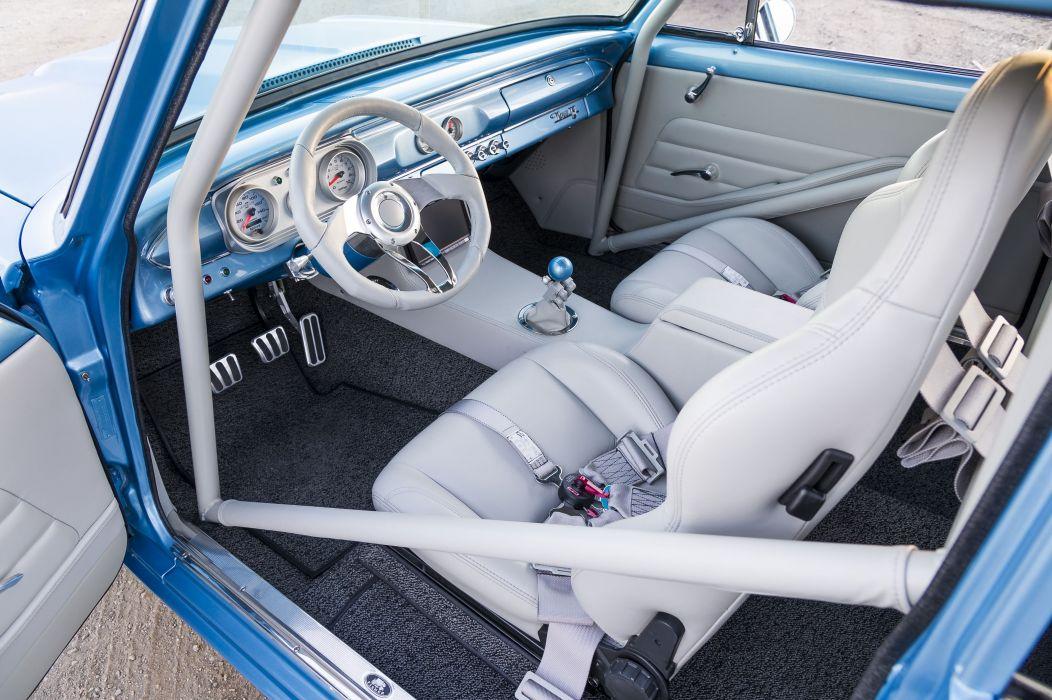 1963 Pro Street Style Nova muscle classic hot rod rods hotrod custom chevy chevrolet drag race racing wallpaper