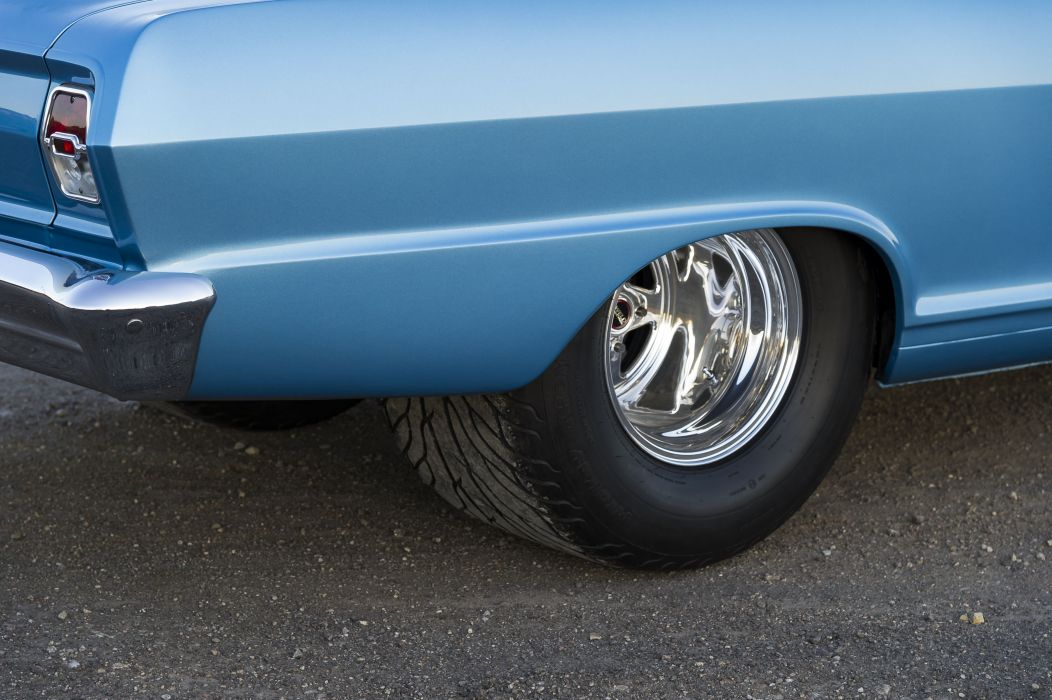 1963 Pro Street Style Nova muscle classic hot rod rods hotrod custom chevy chevrolet drag race racing wallpaper