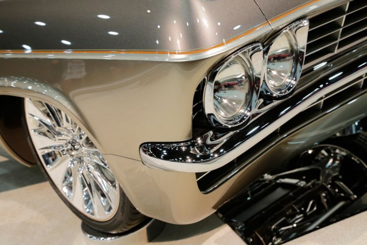 Foose 1965 Chevy Impala muscle classic hot rod rods hotrod custom chevy chevrolet wallpaper