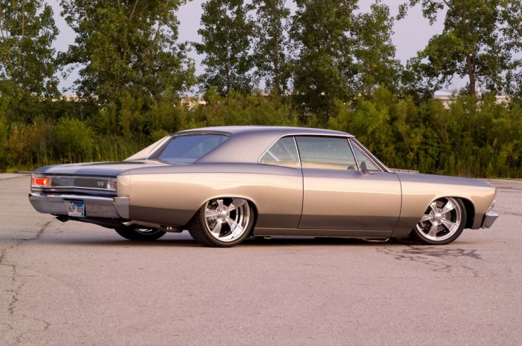 1966 Pro Touring 396 Chevelle S-S muscle classic hot rod rods hotrod custom chevy chevrolet wallpaper