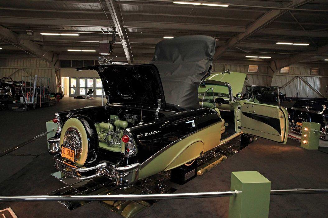 1956 CHEVY BEL AIR CONVERTIBLE lowrider tuning custom hot rod rods hotrod chevrolet wallpaper