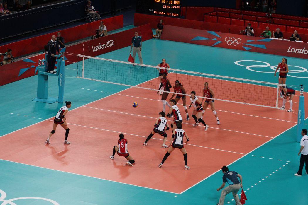 Volleyball femenino deporte wallpaper
