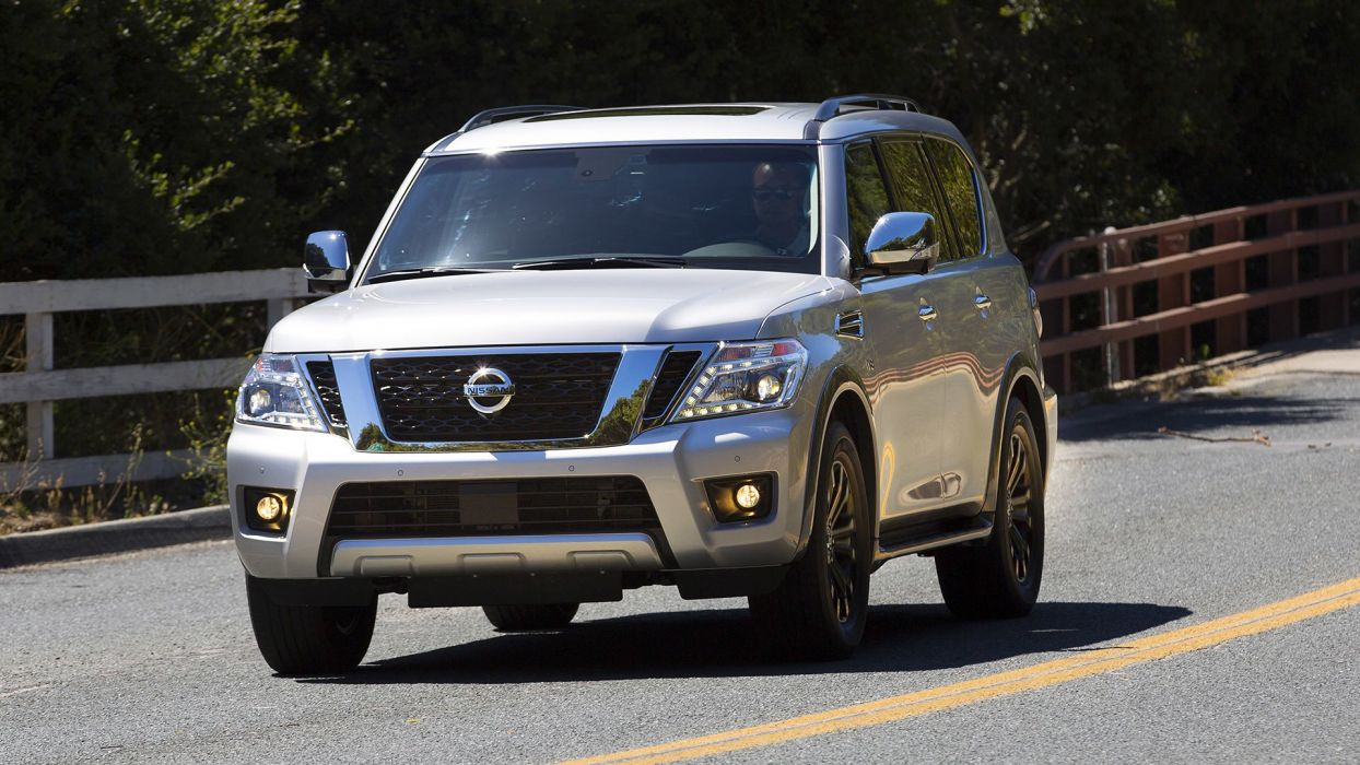 2016 Nissan Armada suv cars 4x4 wallpaper