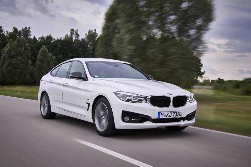 BMW 340i Gran Turismo Sport Line white cars (F34) 2016 wallpaper