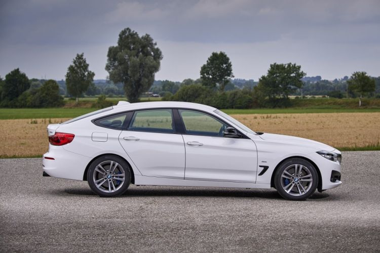 BMW 340i Gran Turismo Sport Line white cars (F34) 2016 wallpaper