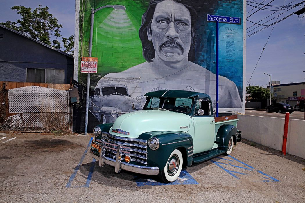 1951 CHEVY 3100 STEPSIDE pickup truck lowrider tuning custom hot rod rods hotrod chevrolet wallpaper