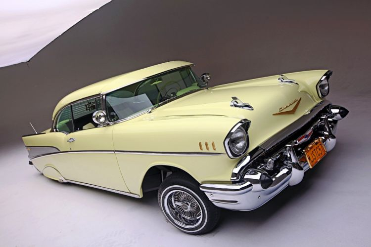 1957 CHEVROLET BEL AIR lowrider tuning custom hot rod rods hotrod chevy wallpaper