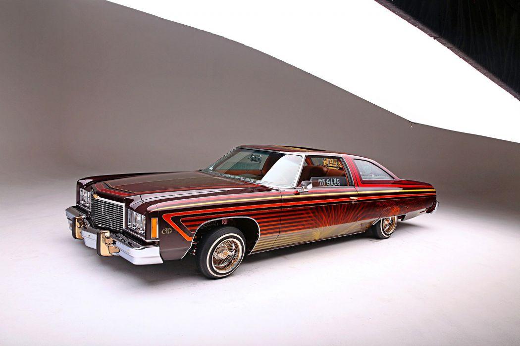 1975 chevrolet impala lowrider tuning custom hot rod rods hotrod chevy wallpaper