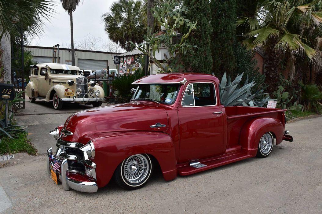 1955 Chevrolet 3100 Pickup Truck Lowrider Tuning Custom Hot Rod Rods Hotrod Chevy Wallpaper 2048x1360 1003088 Wallpaperup