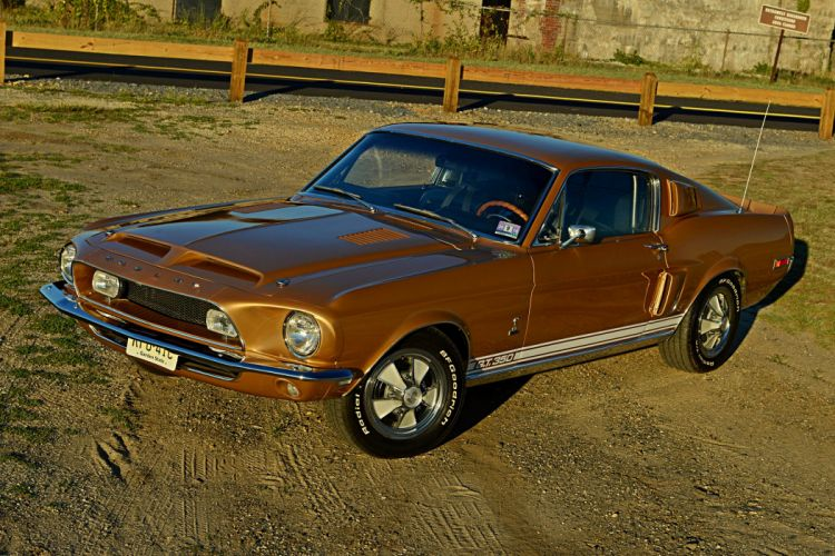 1968 Shelby GT-350 ford mustang fastback cars classic wallpaper