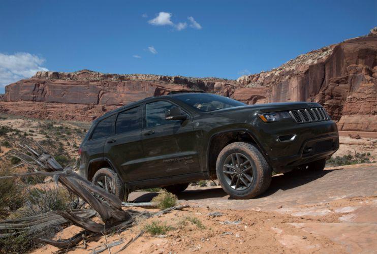 2016 Jeep Grand Cherokee 75th Anniversary cars suv 4x4 wallpaper