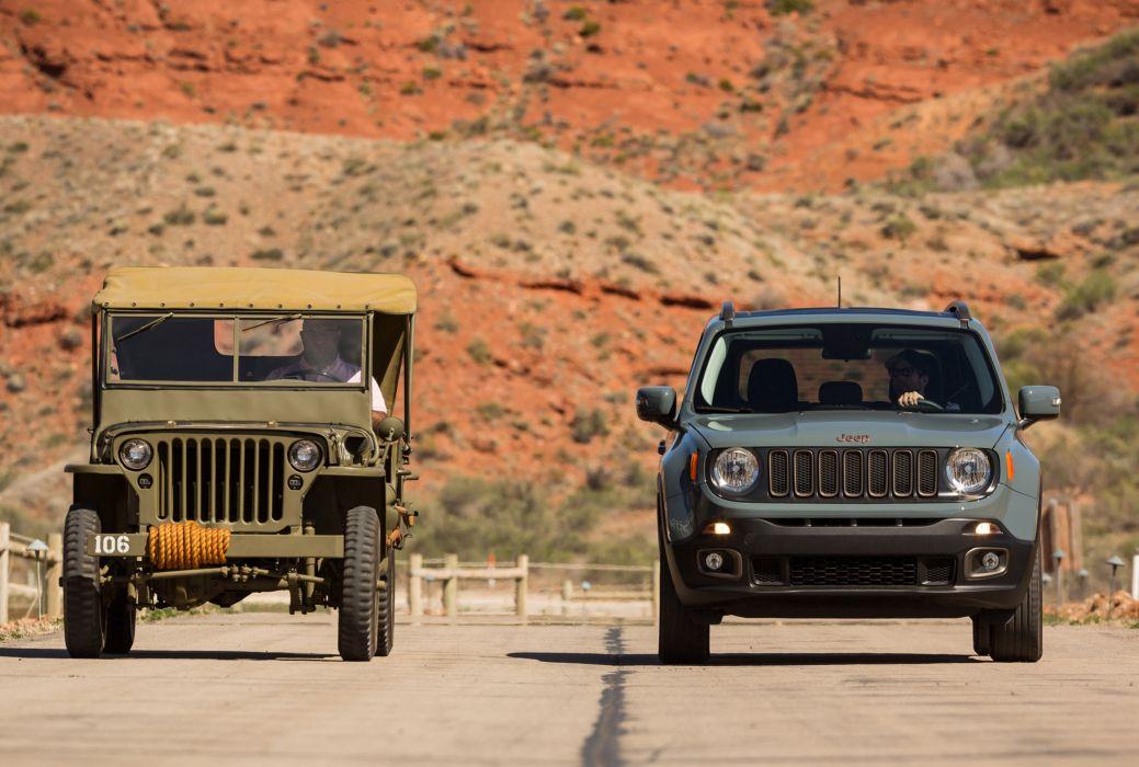 2016 Jeep renegade 75th Anniversary cars suv 4x4 wallpaper