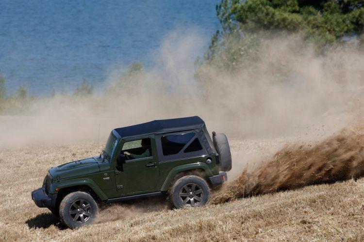2016 Jeep wrangler 75th Anniversary cars suv 4x4 wallpaper