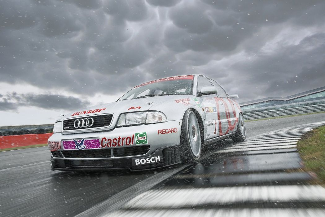 Audi A4 quattro STW cars racecars 1995 wallpaper