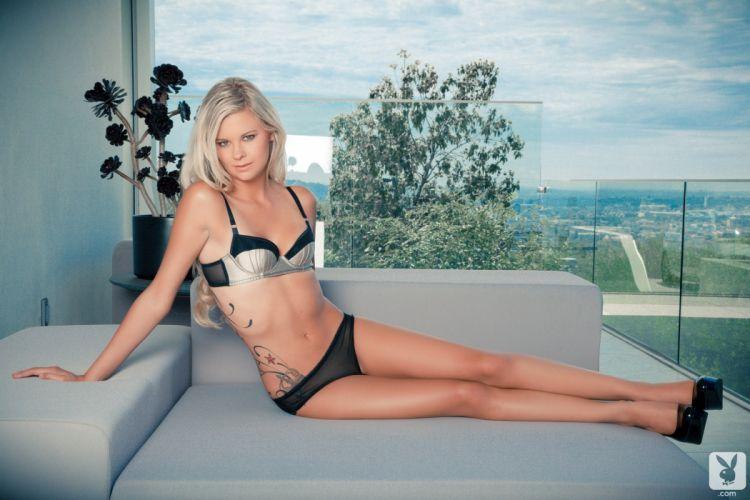 beautiful girl female women woman sexy babe model adult blonde bikini tattoo f wallpaper